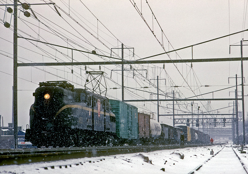 January 1967. Southbound at North Philadelphia.
