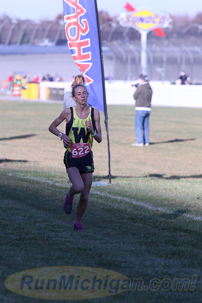 D4 Girls' Finish Section 1 Gallery 2 - 2020 MHSAA LP XC