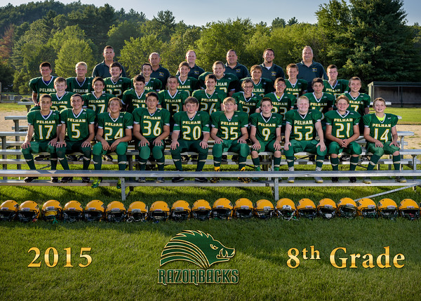 Football - 8th Grade Portraits