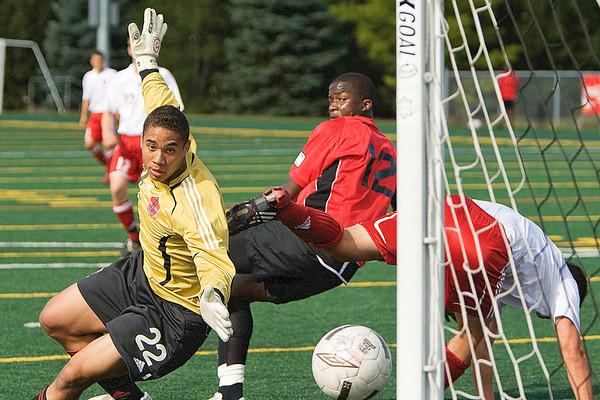 Carleton Ravens Mens Soccer 2009-10 sesaon