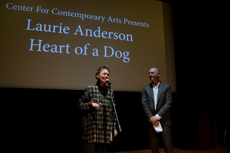 Laurie Anderson at CCA