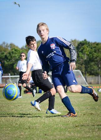 TBU U13 Gasparilla Soccer Tournament 2014