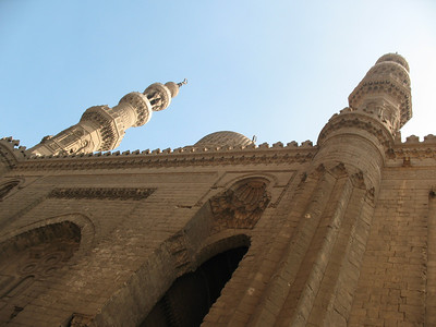 Mosque of Sultan Hassan in Islamic Cairo