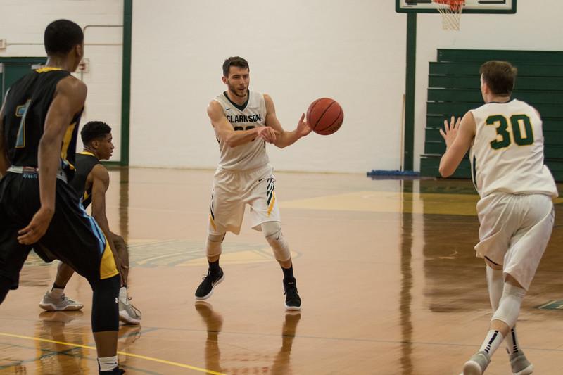Clarkson Athletics: Men Basketball vs. Wildcats. Clarkson win 72 to 61