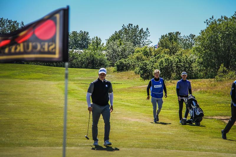 Arnór Ingi Finnbjörnsson, GR.  Mynd/seth@golf.is