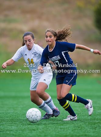 10/14/2010 - Girls Varsity Soccer - Framingham vs Needham