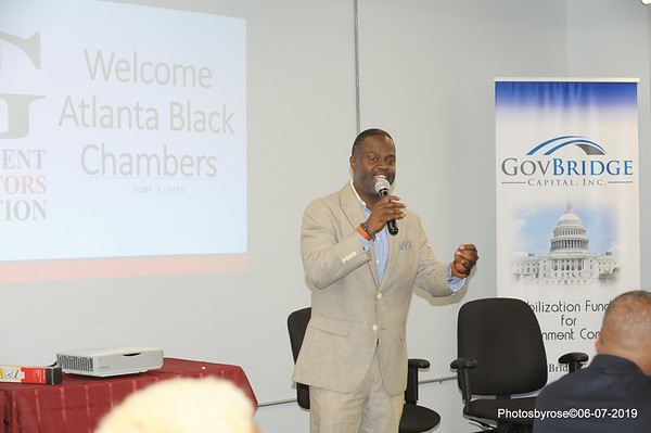 Atlanta Black Chamber 1st Friday 06-07-2019