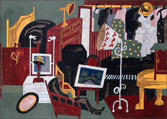 "Jacob Lawrence, ""Antiques"" (1946)"