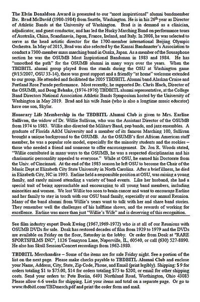 Skull Session Program, page 3
