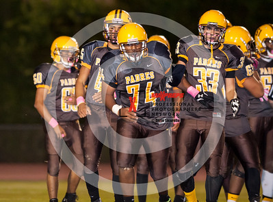 Football 2015 Marcos De Niza vs Mesquite JV
