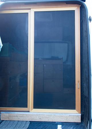 201902 Sprinter Screen Door