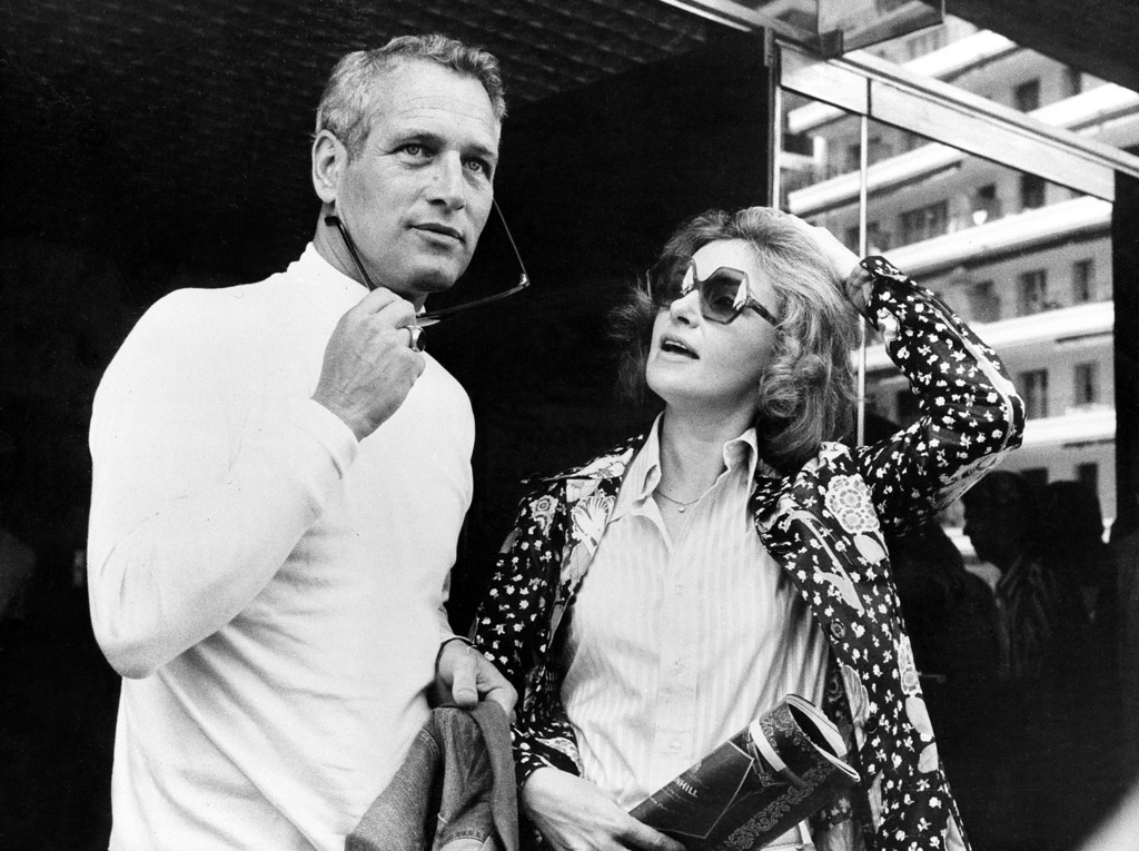 ". Paul Newman and his actress-wife Joanne Woodward are seen in Cannes, France, May 23, 1973, where they present their joint motion picture ""The Effect of Gamma Rays on Man-in-the-Moon Marigolds\"" during the International Cannes Film Festival. Newman directed the film after the Pulitzer Prize-winning play by Paul Zindel, with Woodward starring in the leading role. (AP Photo)"