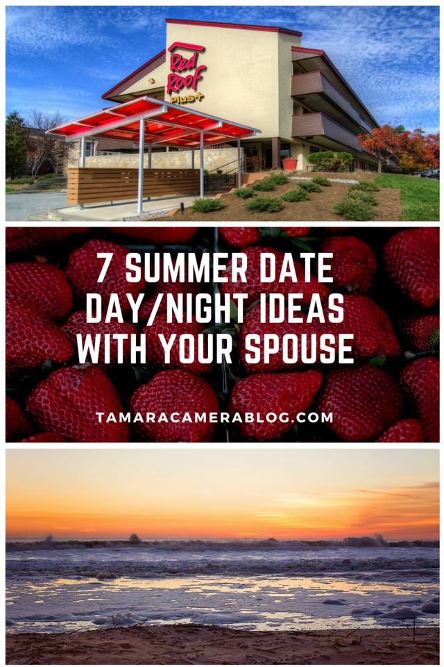 Enjoying summer, but wanting more time with your spouse? Go one of these incredible summer date ideas sponsored by Red Roof! #RoadtoPillow #RR #ad #TapTapGo