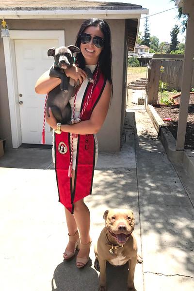 Lily's Graduation