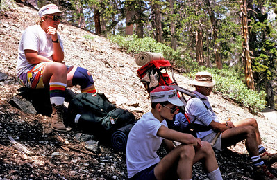 7/25/1987 ~7/30/1987 - Silver Moccasin Trail Training Hike