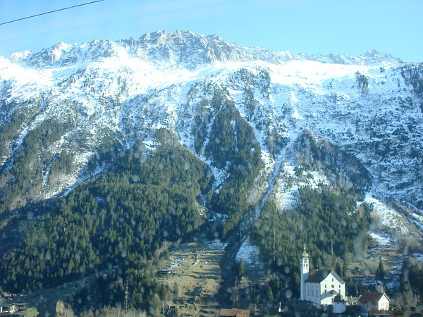 Swiss Alps (Trainride)