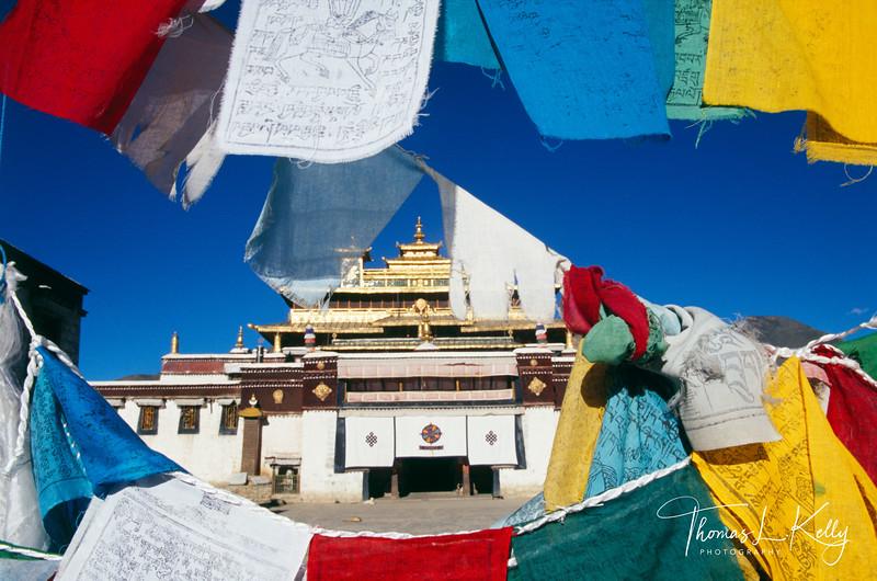 Tibet Monastery...curtains