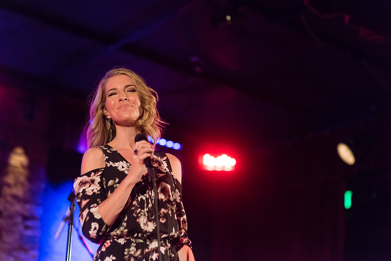Morgan James live at City Winery, Atlanta, GA. 5/25/2017 Photo Credit: Mark Green