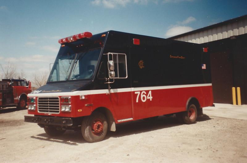 X764 Supply Van