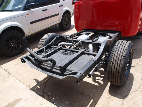 Hot rod chassis pictures