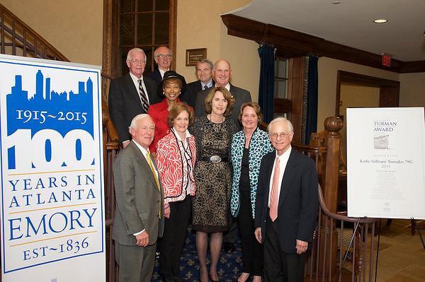 2015 J. Pollard Turman Service Award Ceremony