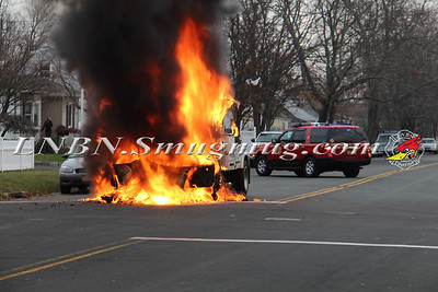 Lindenhurst F.D. Vehicle Fire IFO 702 S. Broadway 12-9-15