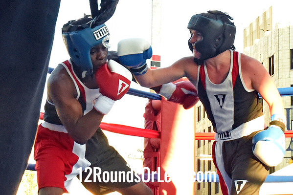 Bout 4 Armond Richard, Cleveland/Romeo -vs- Nico Froce, Foundation Boxing Center, 134 lbs