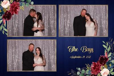 The Bays Wedding strips