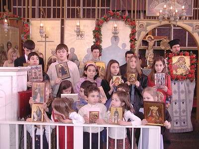 Community Life - Sunday of Orthodoxy - February 29, 2004