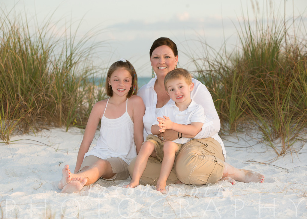 Richtin Family on Siesta Key, April 2013