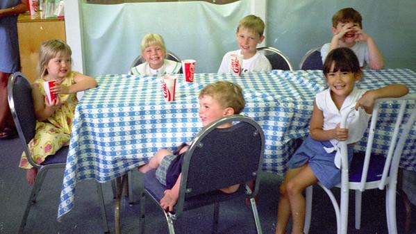 Nicholas Giard 6th Birthday Party, 1997