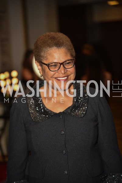 Congresswoman Karen Bass, TIS Foundation, 25th Anniversary Gala, Marriott Marquis, June 6, 2019, photo by Ben Droz.