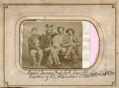 Press Moore Cattle Drover Album 1870