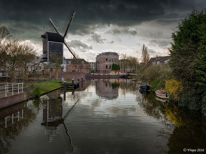 Leiden (HDR-bewerking).