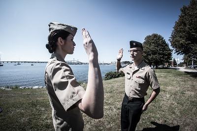 HM3 Grant Reenlistment