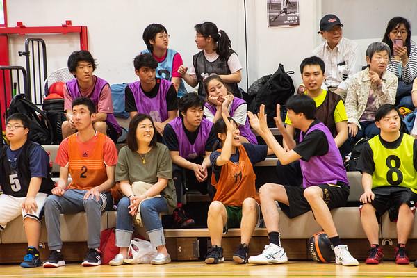 Kanagawa Special Olympics Unified Basketball