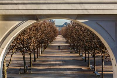 Ballade aux Tuileries, Paris