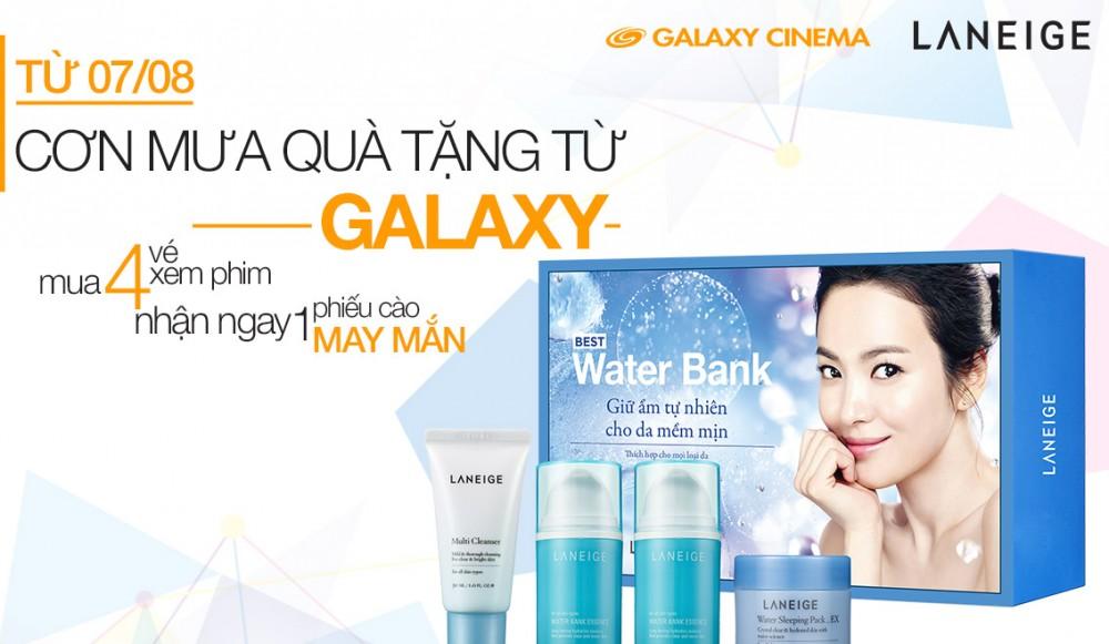 (Galaxy Cinema) Cơn mưa quà tặng trong tháng 8-2015