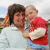Michael Browne pictured with his mum Marie at the annual fun day in St Oliver Plunkett park Camlough. 06W32N10