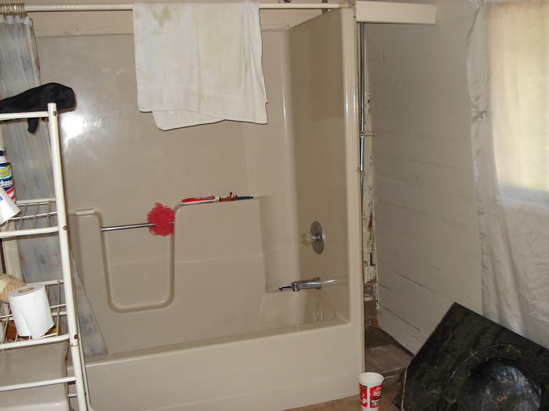 "A ""before"" shot of bathroom. ck"