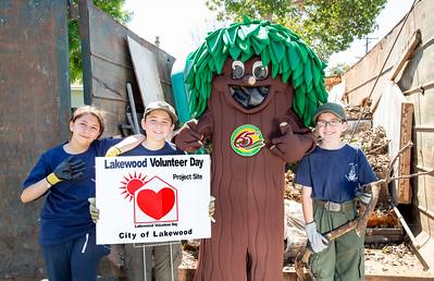 Lakewood Volunteer Day - April 13, 2019