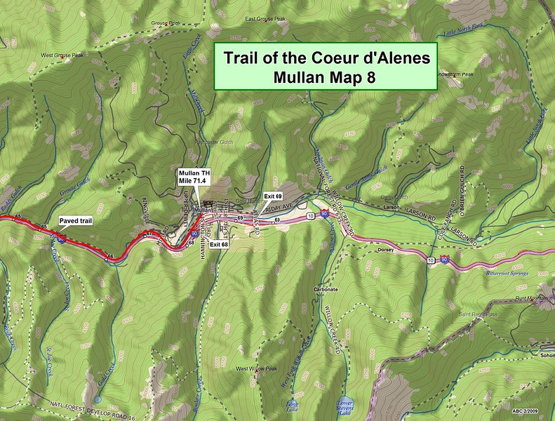Trail of the Coeur d'Alene's State Park (Section #8)