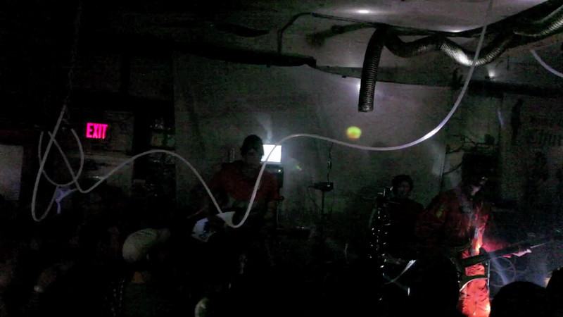 """First song of the set """"Inside the Atom"""""""