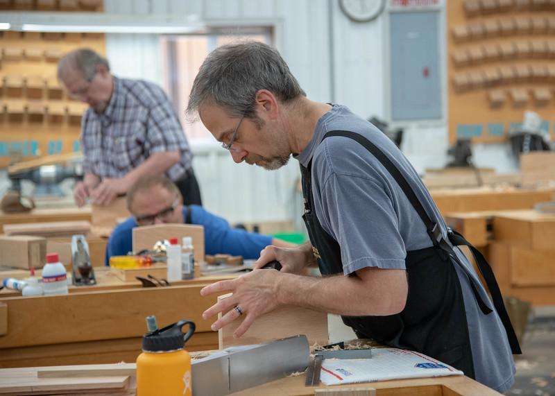 Build a Krenovian Wall Cabinet using Traditional Handskills with Brendan Gaffney