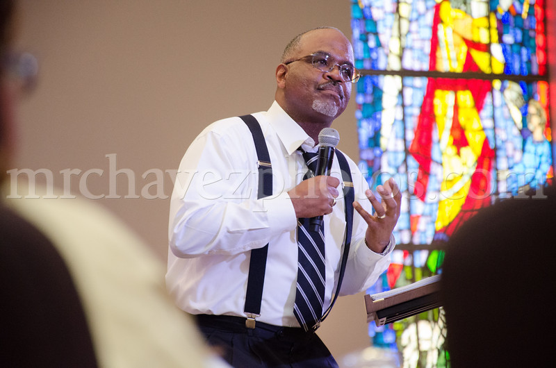 II. Pastor Jeffrey Lewis preaches at Southern Saint Paul Church of Los Angeles