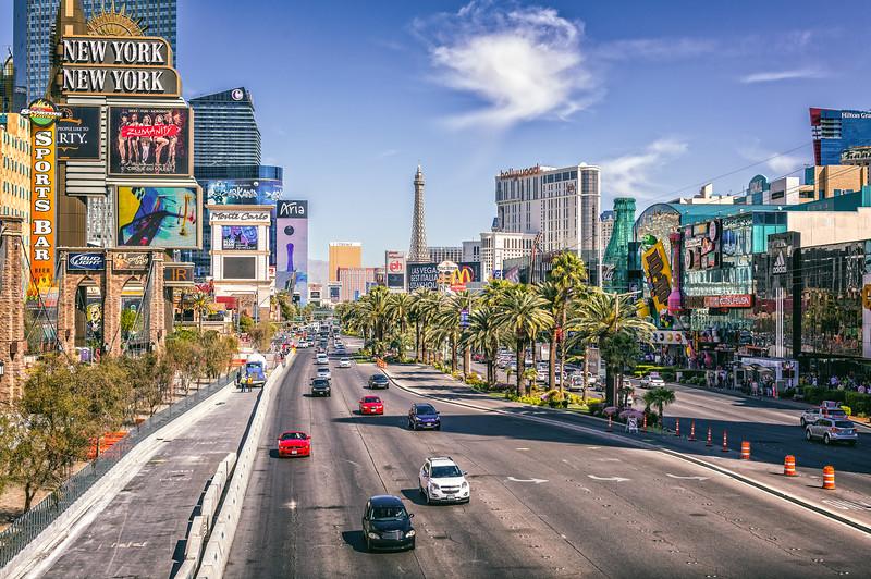 Looking North on the Las Vegas Strip-.jpg