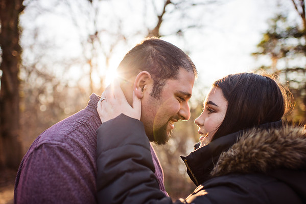 Chelsea and Christian Mini Engagement Session