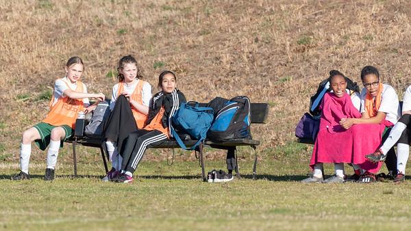 Bridget's 1st Soccer Game