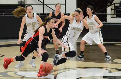Basketball - LHS Girls 2013-14 - Buffalo