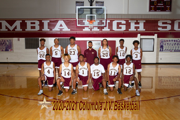 2020-2021 Boys Basketball  JV